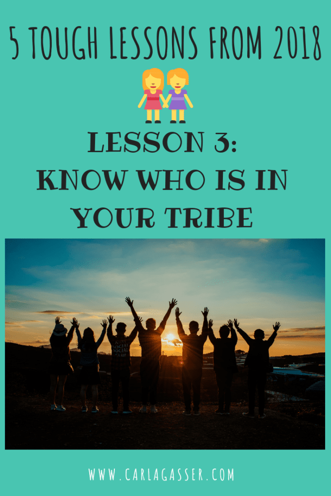 KNOW WHO IS IN YOUR TRIBE